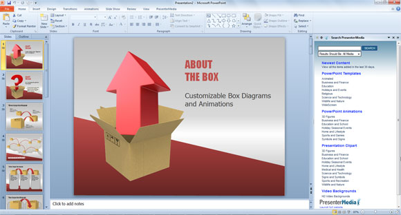 PresenterMedia PowerPoint Templates Free