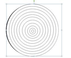 Dibujar una diana en powerpoint 2010 de arco y flecha for Bullseye template printable