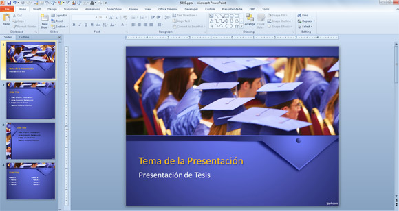 Presentaciones Power Point para Tesis : : Plantillas Power Point